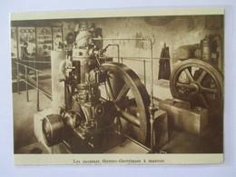 1931 Moines  &  Le Generateur Thermo Electrique  - ABBAYE DE CLAIRVAUX - Coupure De Presse Originale (encart Photo) - Tools