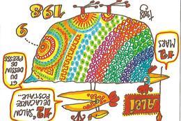 ALBI. 12° SALON NATIONAL DES CARTES POSTALES. . 1989 - Beursen Voor Verzamellars