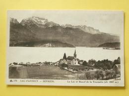V05-BC-74-haute Savoie-sevrier -le Lac-vue Generale Et La Tournette- - Annecy