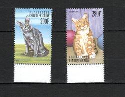 Central Africa Cats MNH - Non Classés