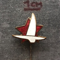 Badge Pin ZN006975 - Sailing (Yachting) Yugoslavia Federation Association Union - Sailing, Yachting