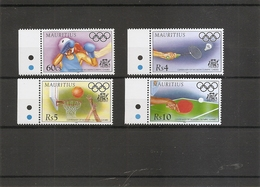 JO -Centenaire Des JO Modernes ( 860/863 XXX -MNH- De Maurice) - Olympic Games