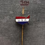 Badge Pin ZN006983 - Rowing / Kayak / Canoe USA Federation Association Union - Rowing