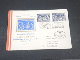 AUTRICHE - Enveloppe FDC Noël En 1970 - L 18897 - FDC