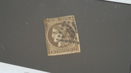 LOT 401726 TIMBRE DE FRANCE OBLITERE N°47 VALEUR 250 EUROS - 1870 Bordeaux Printing