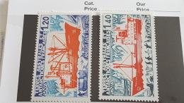 LOT 401772 TIMBRE DE COLONIE TAAF NEUF** N°66/67 LUXE - Terres Australes Et Antarctiques Françaises (TAAF)