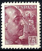España Nº 868 En Nuevo - 1931-50 Nuevos & Fijasellos