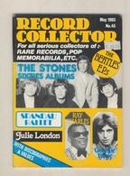 REVUE ANGLAISE RECORD COLLECTOR N° 45   De 1983 :  The Stones , The Beatles   ETC ........... - Objets Dérivés
