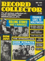 REVUE ANGLAISE RECORD COLLECTOR N° 111   De 1988 : ROLLING STONES  , Bon Jovi    ETC ........... - Objets Dérivés