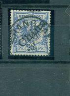 China Auf Krone/Adler, Mi.-Nr. 4 I Gestempelt - Deutsche Post In China