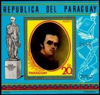 ~~~ Paraguay 1971 - Tableau Shevshenko - Mi. Block 173  ** MNH - Cote 10.00 Euro  ~~~ - Paraguay