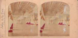 VUE STEREO. 18-121 : SALON DE LA PAIX. PALAIS DES TUILERIES. - Stereoscopio