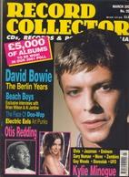 REVUE ANGLAISE RECORD COLLECTOR N° 259  De 2001 :  David Bowie  ,    ETC ........... - Objets Dérivés