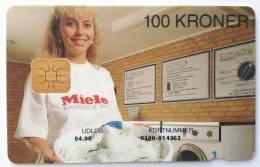 Miele Danmont  100 Kr Exp.Date 04.96 - Denmark