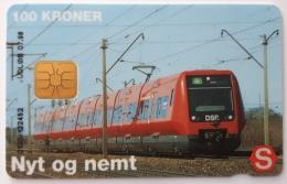 Nyt Og Nemt ,Train  Danmont  100 Kr Exp.Date 07.98 - Denmark