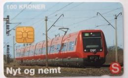 Nyt Og Nemt ,Train  Danmont  100 Kr Exp.Date 05.98 - Denmark