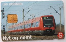 Nyt Og Nemt ,Train  Danmont  100 Kr Exp.Date 10.98 - Denmark