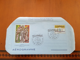 Aerogramma Vaticano  S.francesco D'Assisi E Caterina Da Siena - Altri