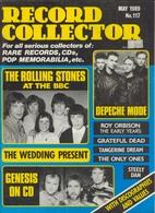 REVUE ANGLAISE RECORD COLLECTOR N° 117  De 1989 : ROLLING STONES , Depeche Mode  ETC ........... - Objets Dérivés