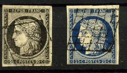 3032- Francia Nº 3/4 - 1849-1850 Cérès