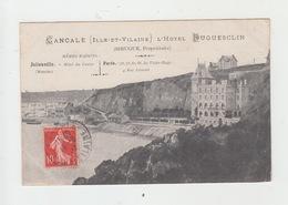 35 - CANCALE / HOTEL DUGUESCLIN - SIRUGUE PROPRIETAIRE - Cancale