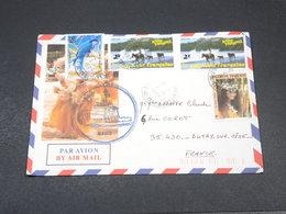POLYNÉSIE - Enveloppe Illustrée , D 'un Marin  Du Maito Pour La France En 1992 - L 18938 - Lettres & Documents