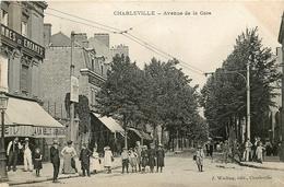 Charleville * Ardennes * Avenue De La Gare * Animé - Charleville