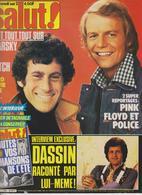 SALUT ! - N° 129 - DU 3 AU 16 SEPTEMBRE 1980 - STARSKY & HUTCH-PINK FLOYD- POLICE-JAIRO ETC ... - PORT COMPRIS EN FRANCE - Musique