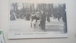 Cpa 75 Paris Paris Voiture Aux Chèvres Attelage - Transport Urbain En Surface