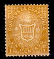 Guatemala-0002 - Emissione 1871 (+) Hinged - - Guatemala