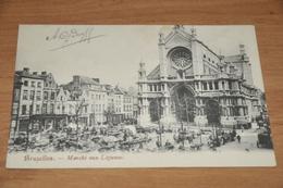 1356- Bruxelles, Marché Aux Légumes - Belgique