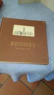 RENNES ,,HOTEL  DE  VILLE ,,DEDICACE PAR HENRI  FREVILLE  MAIRE DE RENNES,,,,TBE - Autographed