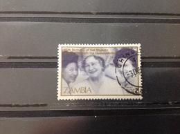 Zambia - 25 Jaar Koningin Elizabeth (55) 1985 - Zambia (1965-...)