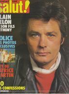 SALUT ! - N° 157 DU30 SEPTEMBRE AU 13 OCTOBRE 1981-POLICE-ALAIN ET ANTHONY DELON-LIO ETC ... - Musique