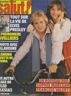 SALUT ! - N° 160 DU 11 AU 24 NOVEMBRE 1981-ELVIS-SOPHIE MARCEAU-FRANCOIS VALERY-IGLESIAS-ETC ... -PORT COMPRIS EN FRANCE - Muziek