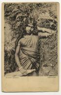 Types Of The Island Of Ceylon Girl Singasezka Red Cross - Sri Lanka (Ceylon)