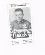 ONGENAE Marcel  Wielrenner Coureur Cycliste  Flandria - Cyclisme