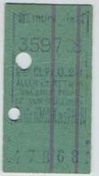 Métro De Paris. Ticket De 2ème Classe Tarif Réduit X 0,20 Aller-retour St-Germain-des-Prés , Valable Pour Un Jour . - Métro