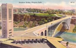 Rainbow Bridge, Niagara Falls, New York, USA Vintage Unused - NY - New York
