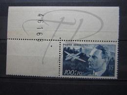 VEND BEAU TIMBRE DE POSTE AERIENNE DE FRANCE N° 22 + 2 BDF , XX !!! (a) - 1927-1959 Nuevos