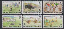 Falkland Islands 1989 Sports Association's Activities 6v ** Mnh (39115) - Falklandeilanden