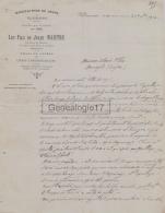 34 901 VILLENEUVETTE HERAULT 1924 Manufacture De Draps LES FILS DE JULES MAISTRE Drap De Lycee à OLLIER - Frankrijk