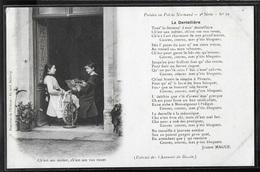 CPA 14 - Poésies En Patois Normand, La Dentellière - Francia