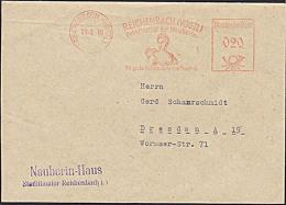 Germany EAST Reichenbach Vogtland Geburtsstadt Der Neuberin , Abs.-Neuberin Haus AFS 1960, Reformatorin Des Theaters - Theater