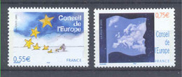 Año 2005 Nº 130/1 Consejo De Europa - Neufs