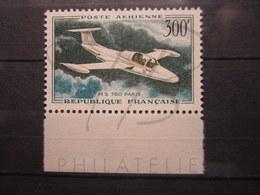 VEND BEAU TIMBRE DE POSTE AERIENNE DE FRANCE N° 35 + BDF , XX !!! (c) - 1927-1959 Nuevos
