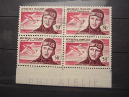 VEND BEAUX TIMBRES DE POSTE AERIENNE DE FRANCE N° 34 EN BLOC DE 4 + BDF , XX !!! - 1927-1959 Nuevos