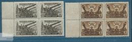 Russie - Yvert N° .1009 ET 1010 EN BLOC DE 4 **  -  Aab18001 - 1923-1991 USSR