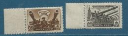 Russie - Yvert N° 1009  Et  1010    Paire **  -  Aab18103 - 1923-1991 USSR