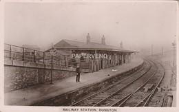 Durham   DUNSTON Railway Station Interior   RP    Dur55 - Durham